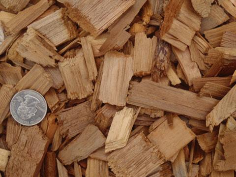 Western Red Cedar Bark Mulch Chips